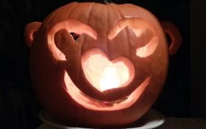 Pumpkin with Ears